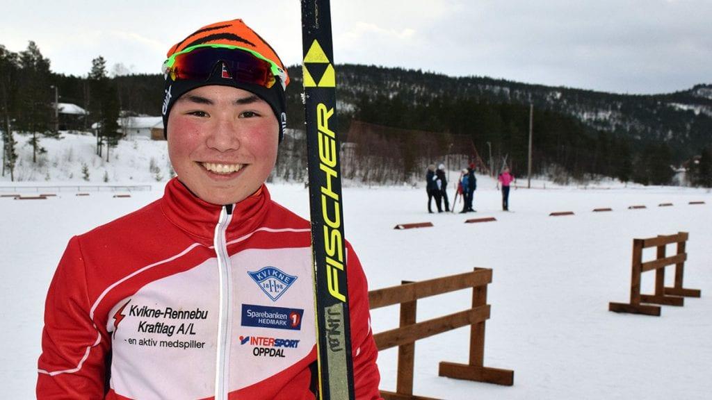 GOD PLASSERING: Jonas Hylen ble den beste av de fem løperne fra Kvikne og Tynset. Arkivfoto: Tore Rasmussen Steien.
