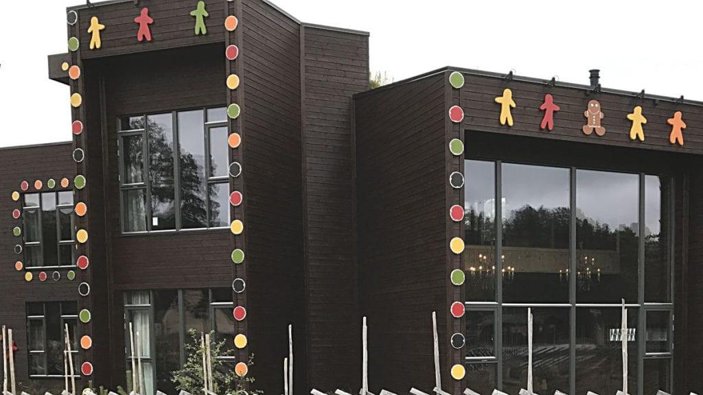 SOLGT: Pepperkakehuset på Savalen er solgt for 11,4 millioner kroner. Foto: Jan Kristoffersen