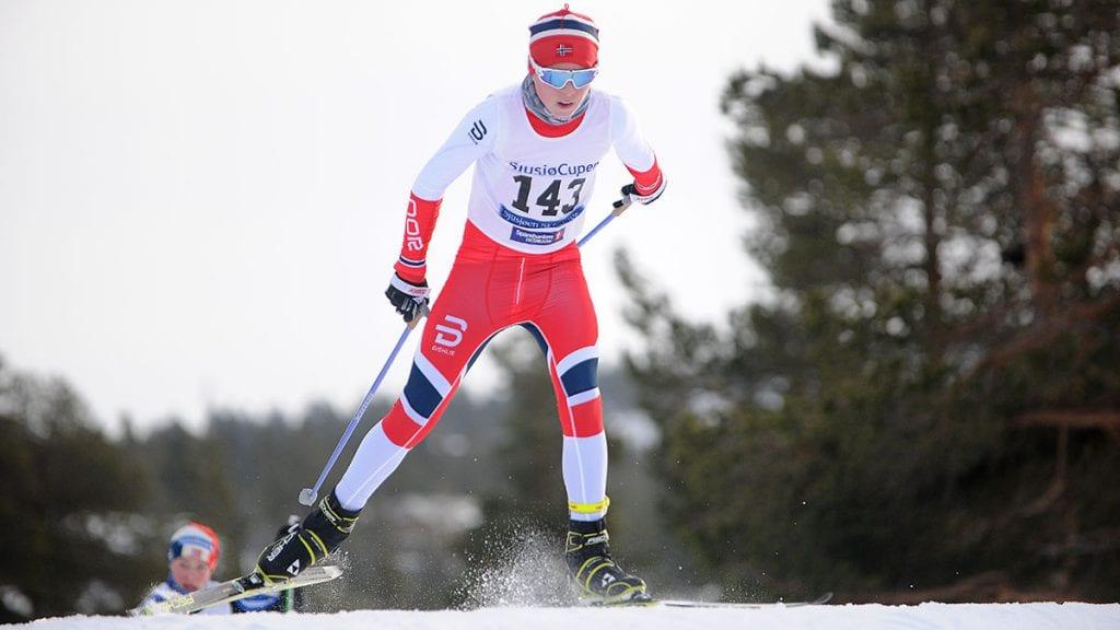 GOD HELG: Under sesongens første Sjusjøcup-helg har Sebastian Rød Feragen levert varene med to andreplasser. Foto: Ivar Thoresen.