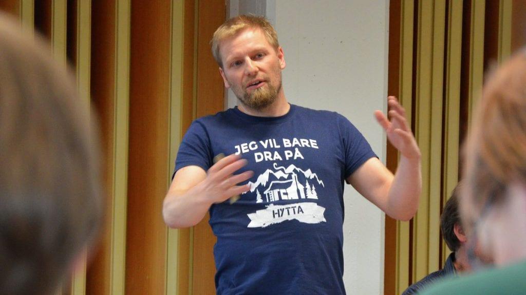 Kommunestyrerepresentant for MDG, Sindre Sørhus