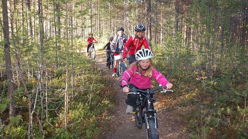 Bli med på sykkelritt på Ripan