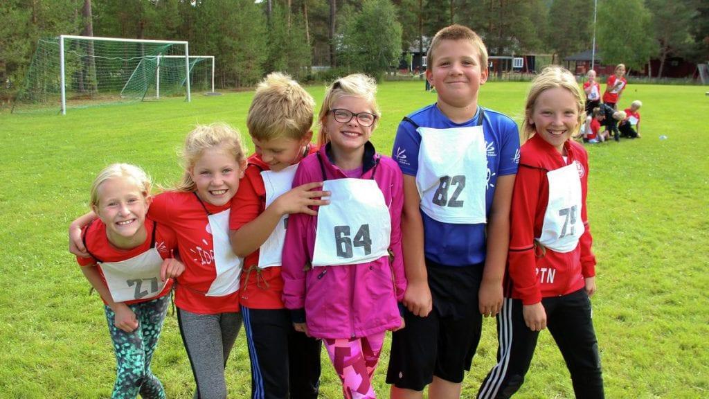 Populært med friidrettsskole