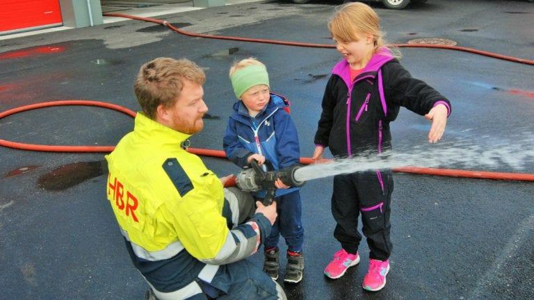Brannvernuke og åpen brannstasjon