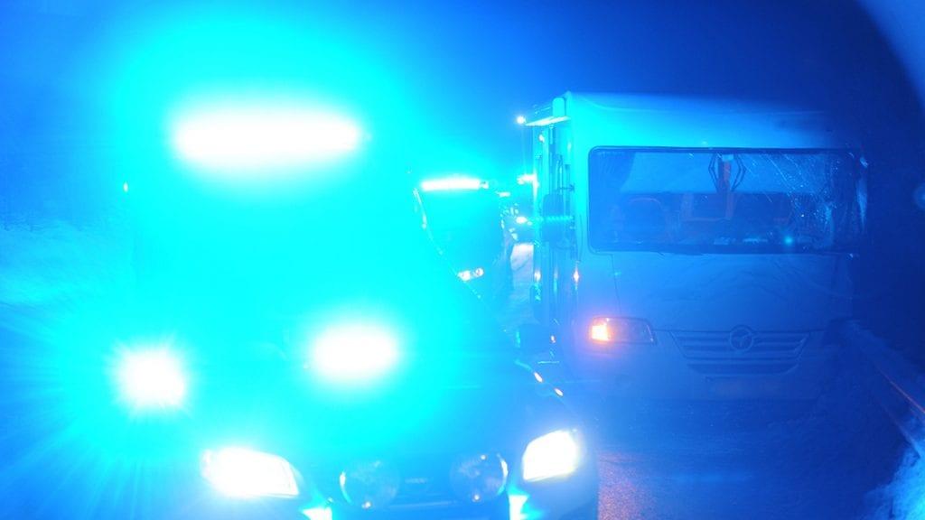 RETT I FJELLET: Traileren kjørte i fjellveggen. Illustrasjonsfoto: Ivar Thoresen