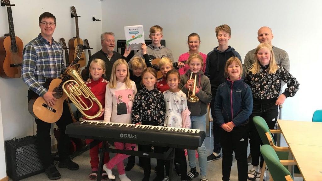 Kulturskolen på Kvikne vokser