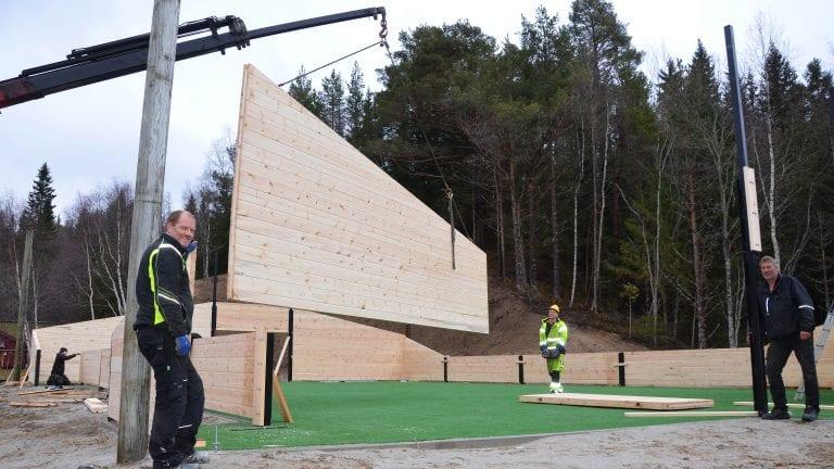 Tylldølene bygger egen ballbinge fra Alvdal