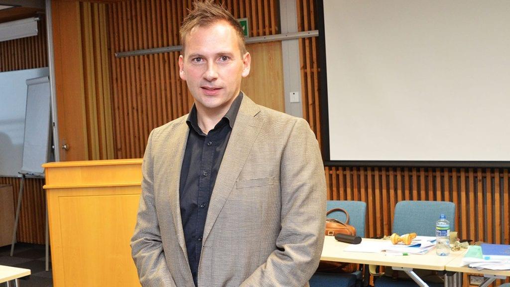 KRK-TOPP: Kjetil Lorentzen topper lista for Tynset kristelig folkeparti til høstens valg. Foto: Erland Vingelsgård