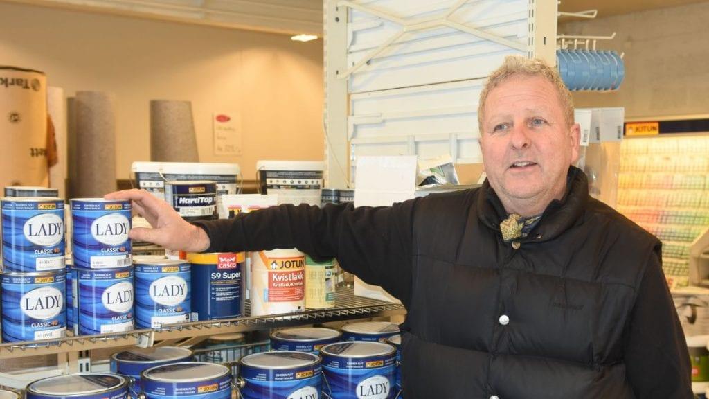 PÅ TOPP: Som ventet er det Jan Erik Larsen som topper Høyres liste. Foto: Jan Kristoffersen