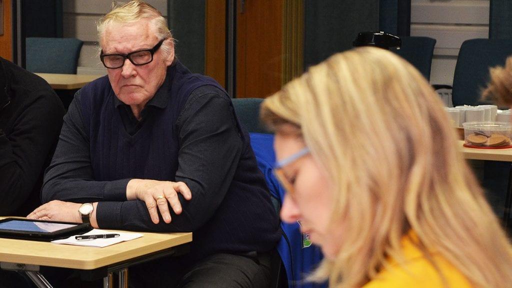 ÅTTENDE PERIODEN: Nils Øian stiller til valg nok en gang og det kan bli hans åttende kommunestyreperiode. Foto: Erland Vingelsgård
