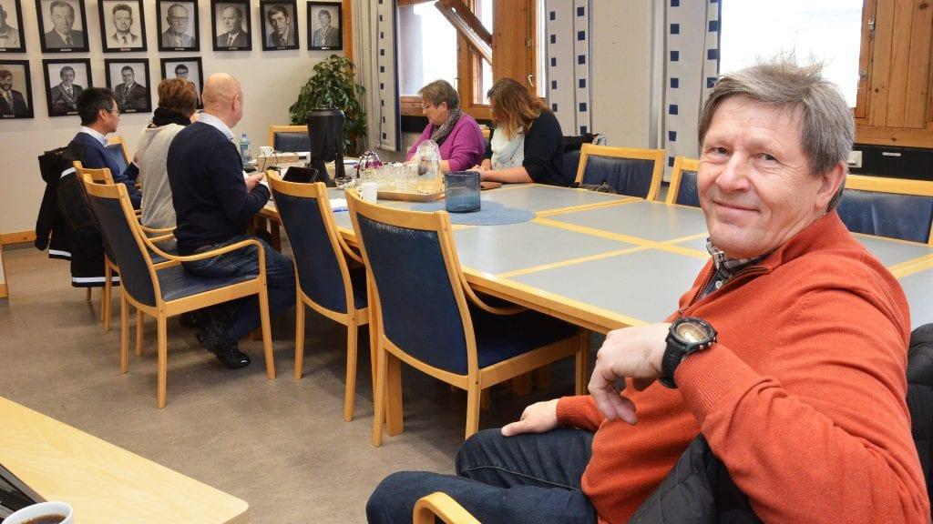 NY STYRELEDER: Morten Sandbakken ble torsdag. Foto: Erland Vingelsgård