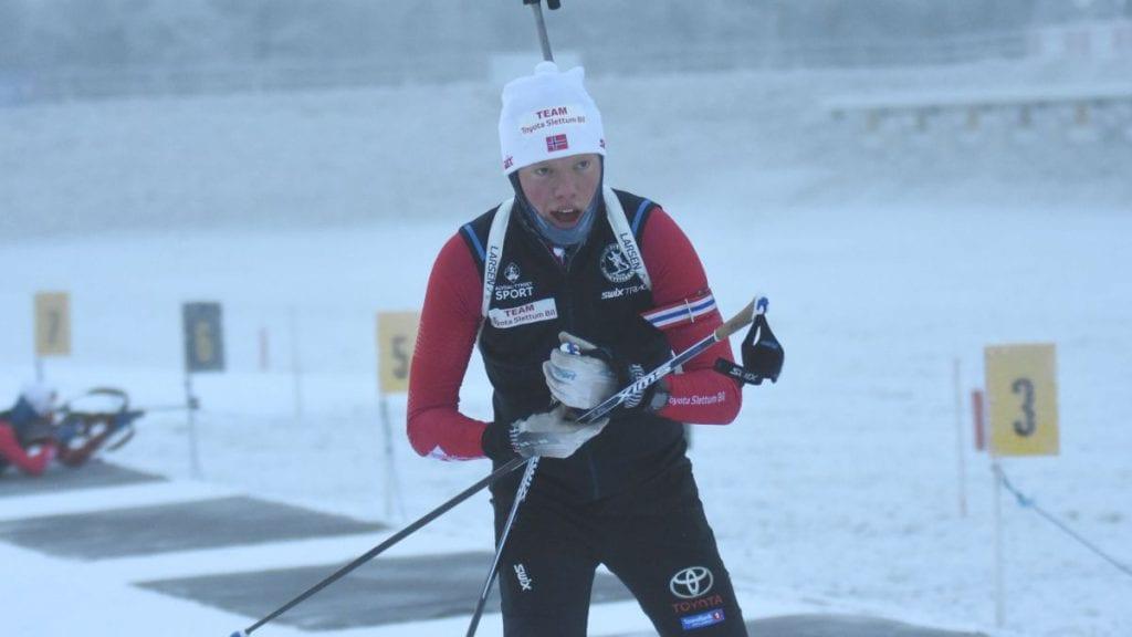 ENDELIG: Sivert Bekken har sett fram mot lørdagens sesongstart for skiskytterne. Foto: Jan Kristoffersen
