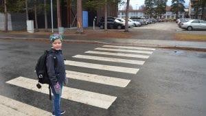 Andreas får sikrere skoleveg