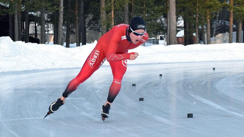 VM-KLAR: Ole Bjørnsmoen Næss går lørdag VM på 10 000 meter.