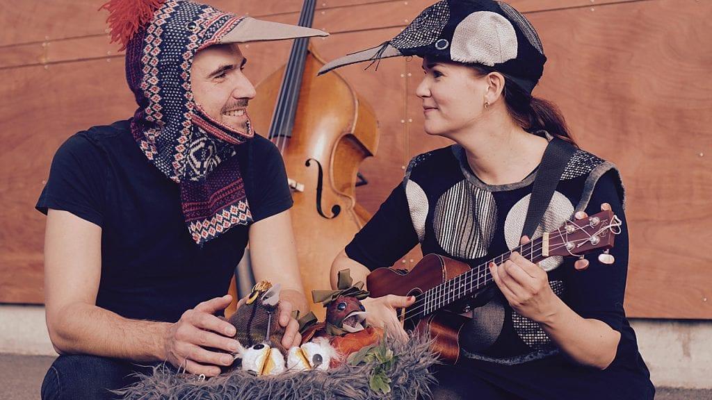 BARNEJAZZ: Lørdag er det barnejazz-forestilling i Smea i Tynset kulturhus. Foto: Rikskonsertene