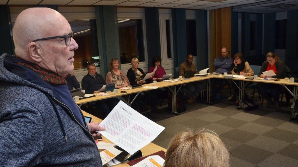 BORTKASTET: Jan Kåre Moan mente forvaltningsrapporten om helse- og omsorg ikke kom med noe nytt og legger feil premisser for diskusjonen. Foto: Erland Vingelsgård