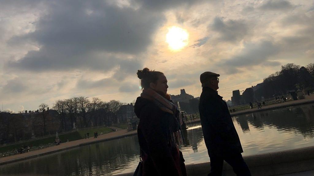 VAKKERT: Luxembourgparken er en av flere steder Magny Telnes anbefaler å besøke i Paris. Foto: Tore Rasmussen Steien
