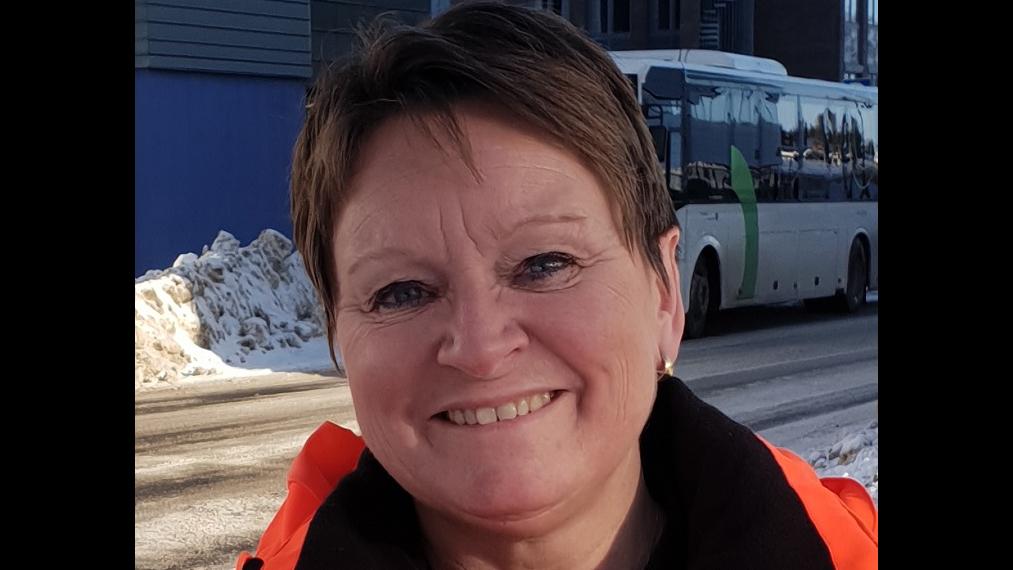 Ann-Kristin Rehder. Foto: Einar Søberg, Statens vegvesen