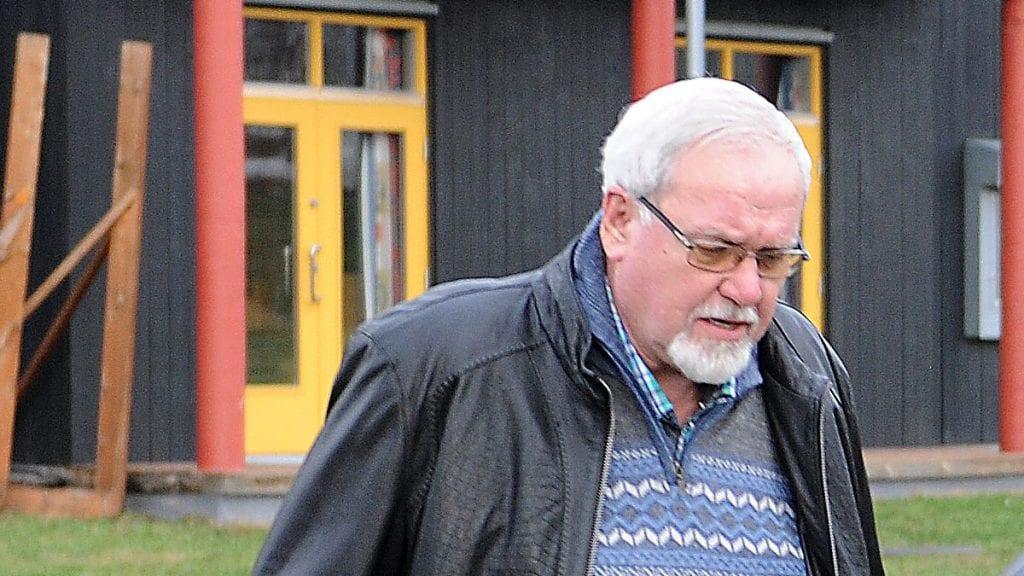 LISTETOPP: Ikke uventet er lokallagsleder Arne Georg Aunøien listetopp. 12 navn er på FrP-lista som folk kan stemme på under valget i høst. Foto: Ivar Thoresen