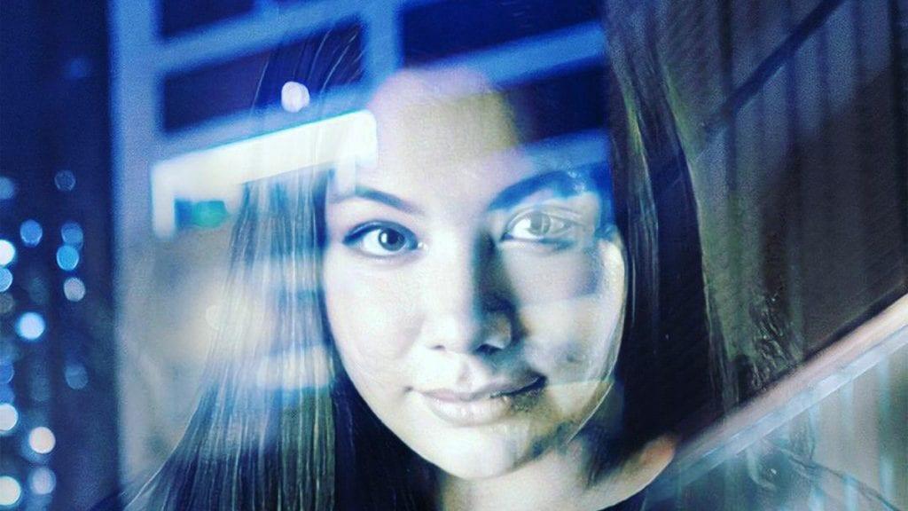 FANTASTISK VIRKELIGHET: Kaia Svenning tar bilder og bearbeider dem. Her har hun gjort det med bilde av seg selv.