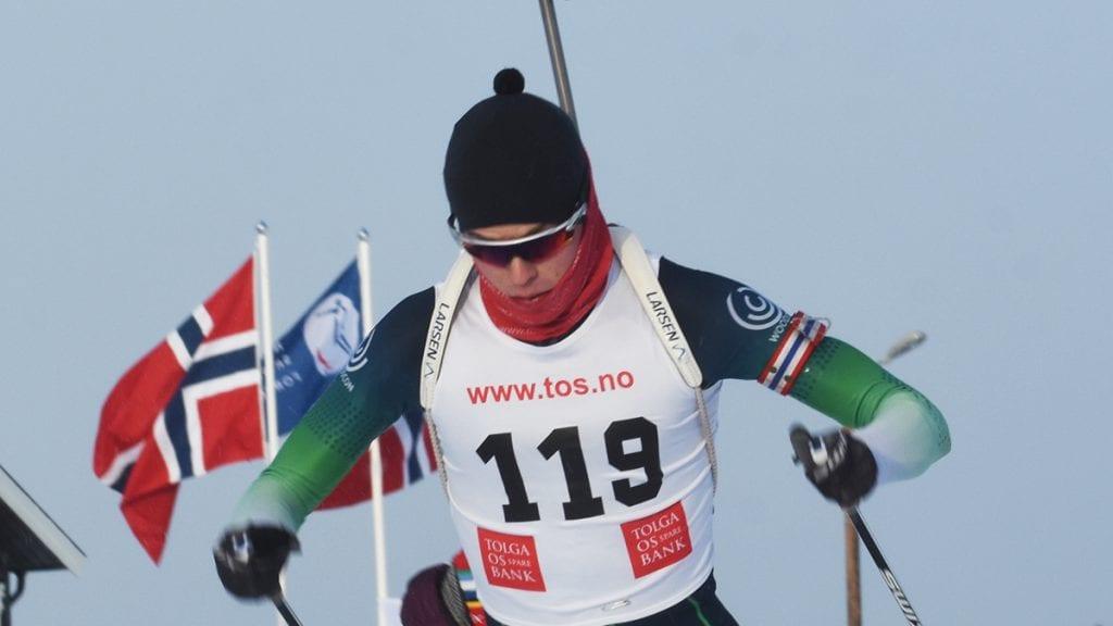 NORGESMESTER: Trygve Bondhus Often slo til og ble norgesmester i skiskyting fredag morgen. Foto: Jan Kristoffersen