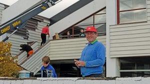 OPPUSSING: Kurt Fossum går nå i front for å ruste opp Kvikne Fjellhotell og søker Tynset kommune om 736 500 kroner i tilskudd. Foto: Kari Nystuen
