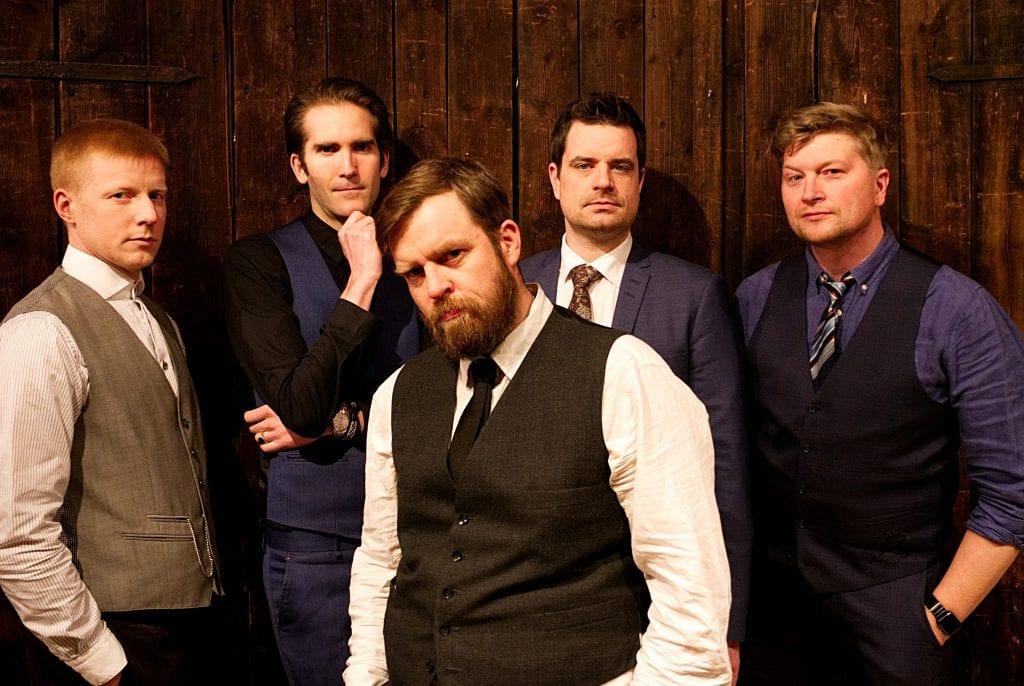 Copper City Ramblers består av erfarne musikere fra rørosregionen og kommer i år til Høgget.