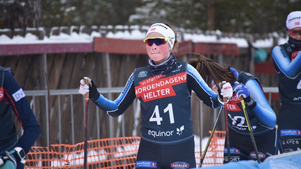 NUMMER EN: Ida Vang har levert bra i Sjusjøcupen denne sesongen. Arkivfoto: Torstein Sagbakken.