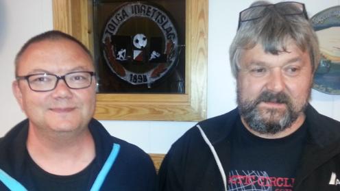 KLARE FOR FINALE: Jon Sagbakken og Trond Magne Aasheim, Tynset bridgeklubb, er klare for NM-finale etter å ha blitt kretsmester lørdag. Arkivfoto: Østerdalen bridgekrets.