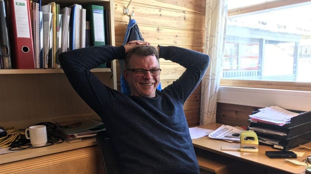 LEDER: Knut Aaseng, leder ved Tjenesten for funksjonshemmede, mener at det er penger å spare på en mer samlet bygningsmasse. Foto: Jan Kristoffersen