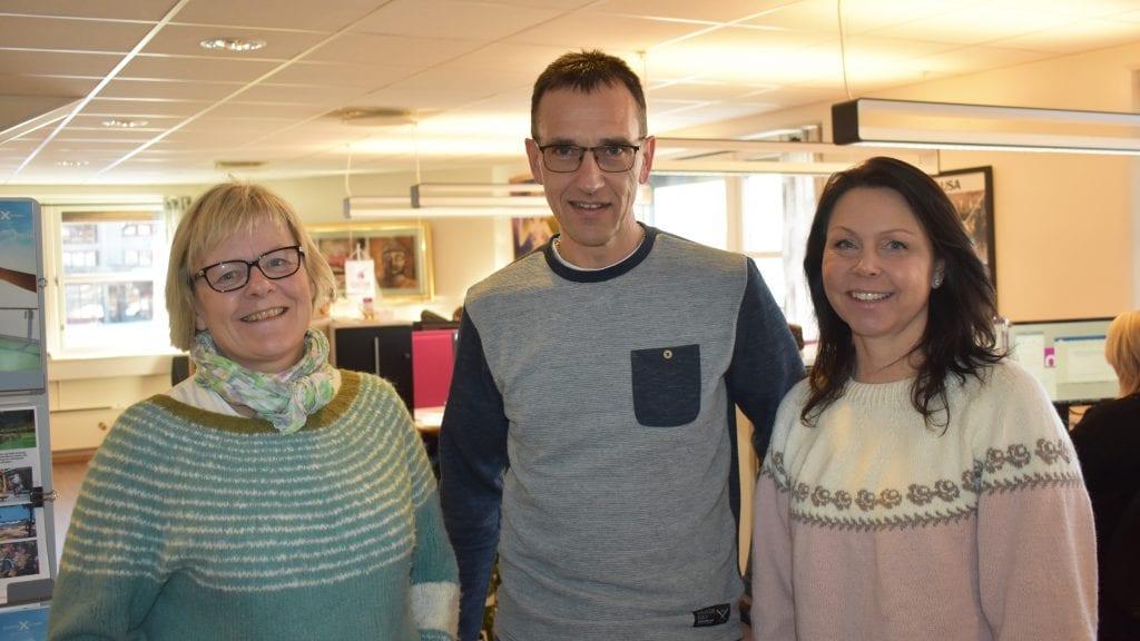 NYE TURER: Orkideekspressen, med Rigmor Hafstad, Frode Aasegaard og Britt Nina Storholm, tilbyr nye turer til spennende Namibia og Colombia. Foto: Torstein Sagbakken.