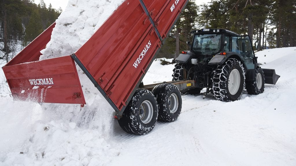 GARDERER SEG: Arrangørene av junior-NM har ikke snømangel men snøen må fordeles litt i løypene. Foto: Jan Kristoffersen