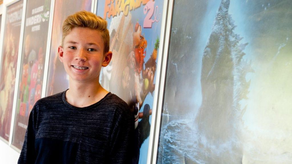 JURYMEDLEM: Magnus Søberg har vært i Tsjekkia og vært jurymedlem på verdens største festival for barne- og ungdomsfilm. Foto: Anne Skjøtskift