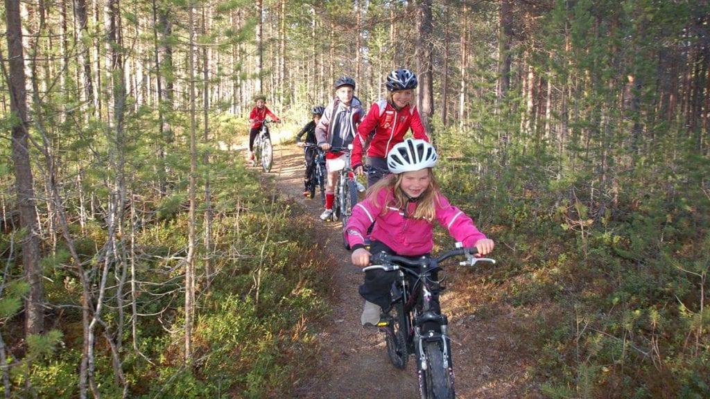 SYKKELGLEDE FOR DE YNGSTE: Lørdag er det duket for årets utgave av Ripantråkket,. Uten tidtaking og plasseringsjag blir det en sykkelfest. Foto: Tomas Sørli
